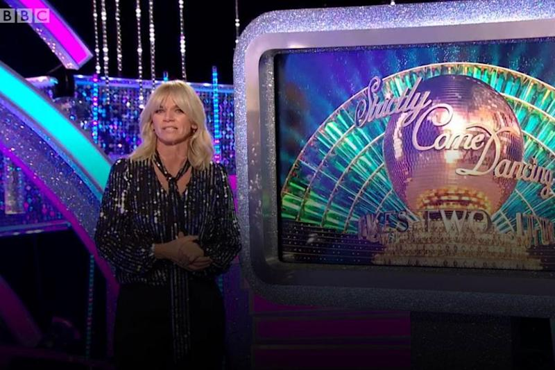 Host: Zoe Ball is back for another series (BBC)