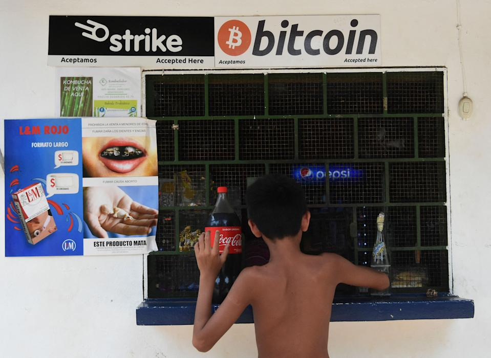 Bitcoin is to become legal tender in El Salvador, the country's president said. Photo: Getty Images
