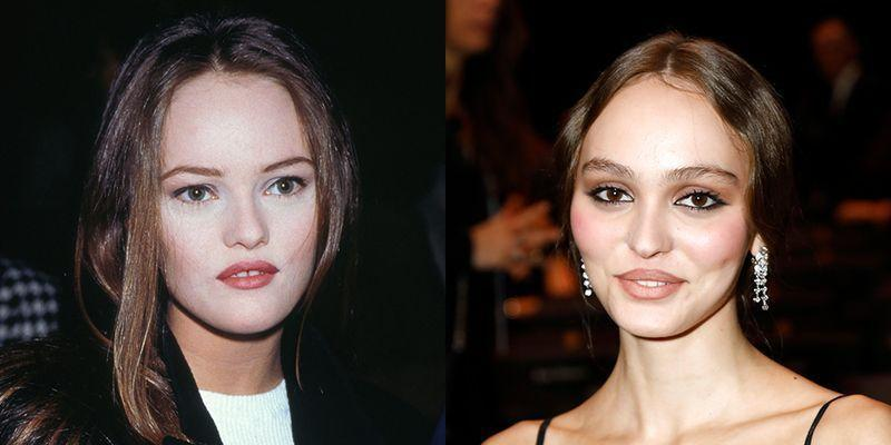 """<p>At 19, Vanessa Paradis was well known as a French musician, actress, and fashion model—in fact, she got her big break at 14 with the song """"Joe le taxi."""" Lily-Rose, Vanessa's daughter with Johnny Depp, also got a young start at 15 in the movie <em>Tusk. </em>Now, the 20-year-old is a well-known model.</p>"""