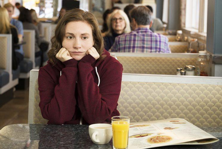 Lena Dunham on HBO's Girls. (Photo: HBO)