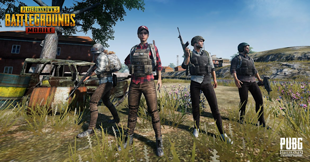 'PUBG' is on mobile, so now you can win your chicken dinners on the go. J/K, you're still going to lose all the time.