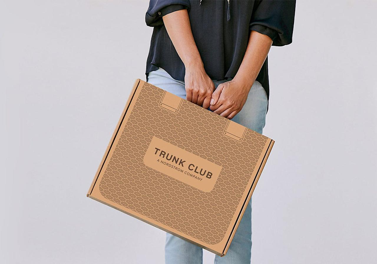"""<p>I was initially struck by the cute suitcase-inspired box that my <a href=""""https://www.popsugar.com/buy?url=https%3A%2F%2Fwww.trunkclub.com%2Fhome&p_name=Nordstrom%20Trunk%20Club&retailer=trunkclub.com&evar1=fab%3Aus&evar9=47518852&evar98=https%3A%2F%2Fwww.popsugar.com%2Fphoto-gallery%2F47518852%2Fimage%2F47518857%2FHow-Nordstrom-Trunk-Club-Is-Packaged-Arrives&list1=reviews%2Cshopping%2Cnordstrom%2Ceditors%20pick%2Cproduct%20reviews%2Csubscription%20boxes%2Cfashion%20shopping%2Cstaying%20home&prop13=api&pdata=1"""" rel=""""nofollow"""" data-shoppable-link=""""1"""" target=""""_blank"""" class=""""ga-track"""" data-ga-category=""""Related"""" data-ga-label=""""https://www.trunkclub.com/home"""" data-ga-action=""""In-Line Links"""">Nordstrom Trunk Club</a> arrived in.</p>"""
