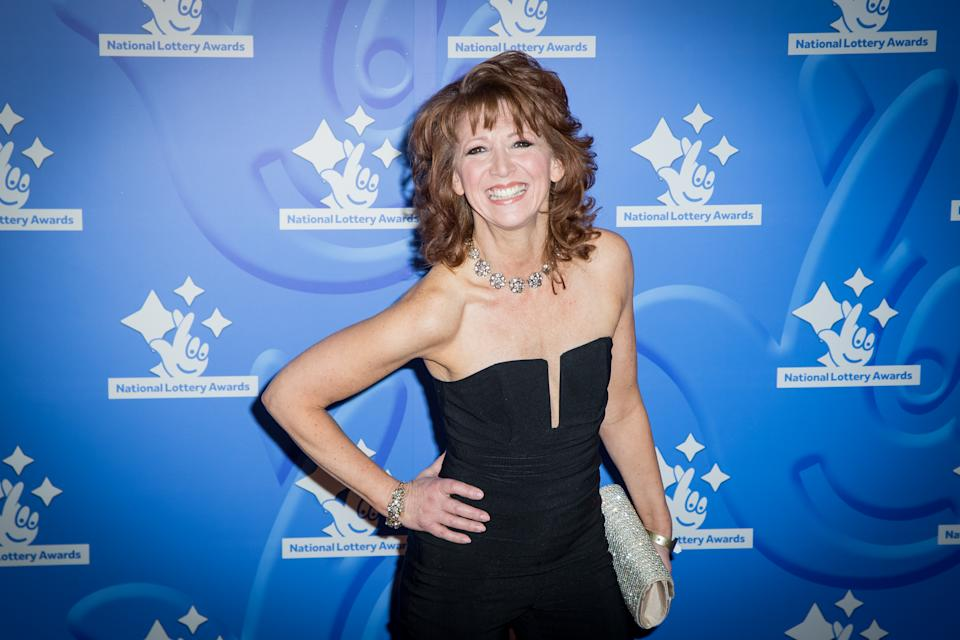 Bonnie Langford poses for photographers upon arrival at the National Lottery Stars 2015 event in London, Friday, Sept. 11, 2015. (Photo by Vianney Le Caer/Invision/AP)