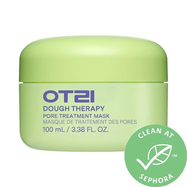 <p>The new <span>OTZI Dough Therapy Pore Treatment Mask</span> ($30) takes on excess sebum, enlarged pores, dryness, and dullness in just five minutes' time.</p>