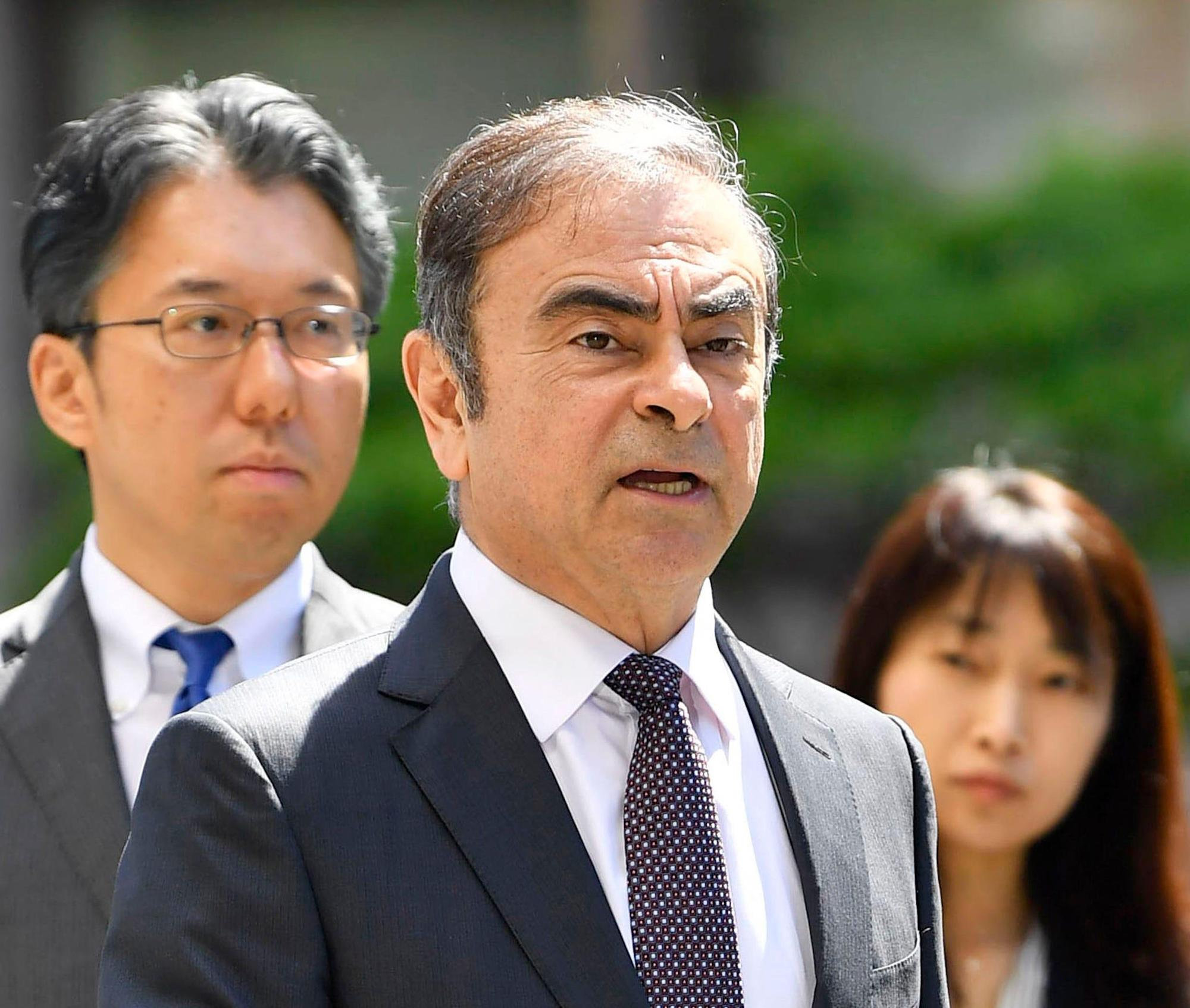 Supreme Court OKs extradition of U.S. citizens accused of 'brazen' escape of Carlos Ghosn - Yahoo News