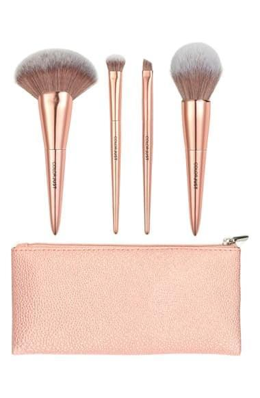 <p>Give yourself a flawless complexion finish with the <span>COLORJUST Must Have Mini Brush Collection </span> ($35).</p>