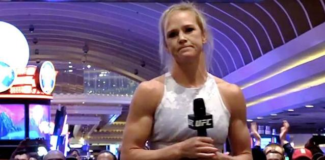 bdf5d20b6ce6 Holly Holm releases statement following brutal KO loss to Amanda Nunes