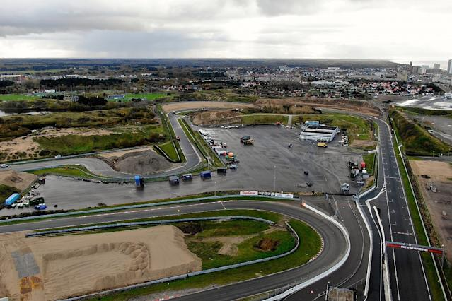 How F1 made Zandvoort DRS banking idea a reality