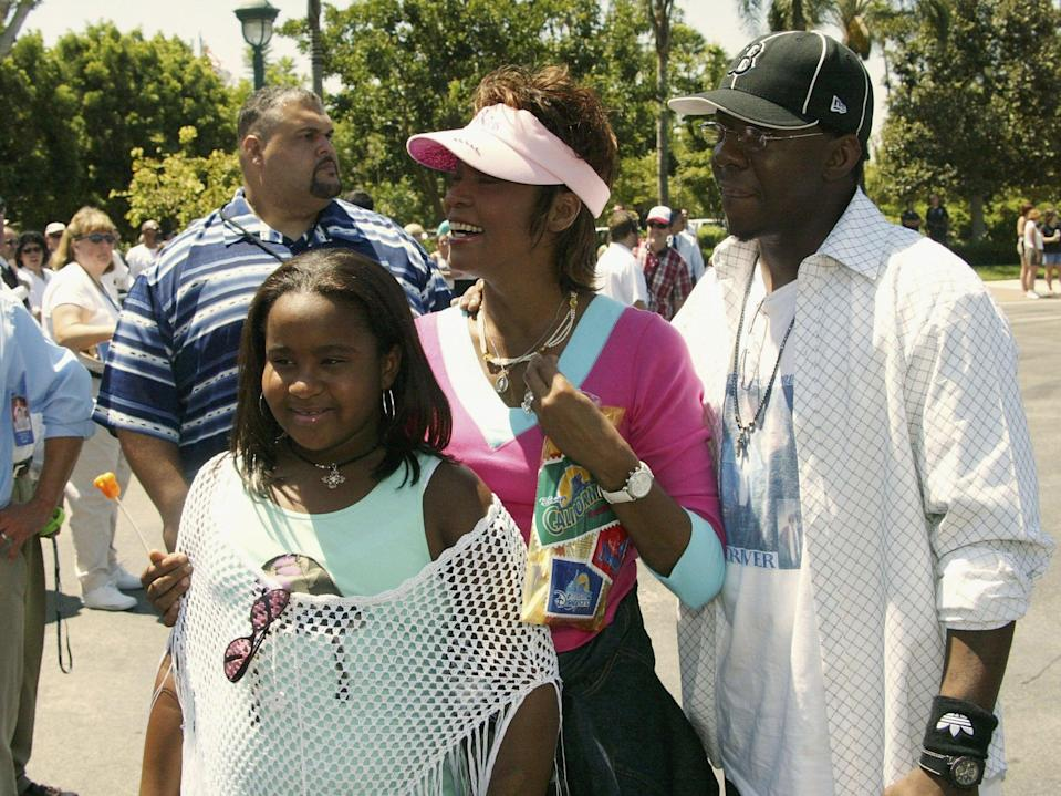 <p>Bobby Brown blames Nick Gordon for providing drugs in deaths of Bobbi Kristina and Whitney Houston </p> (Getty Images)
