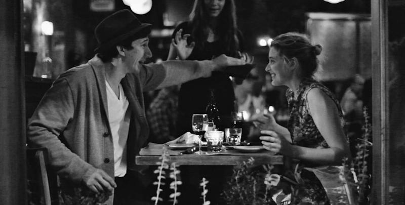 Adam Driver and Greta Gerwig in Frances Ha