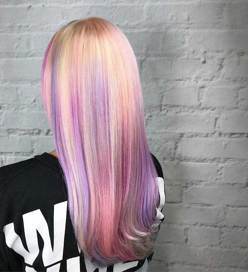Pink Cloud Hair Is This Spring\'s Dreamiest Pastel Hair-Color ...