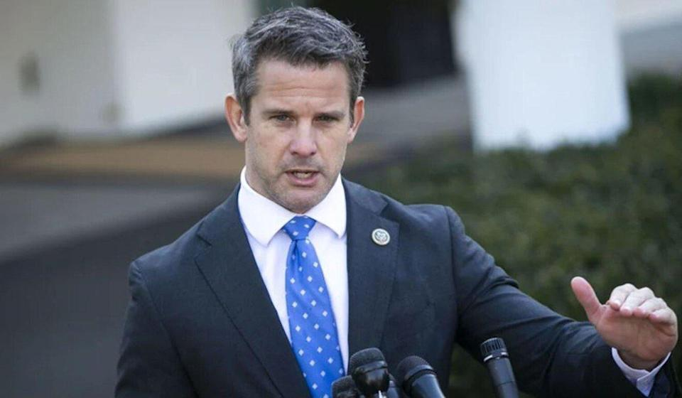 US Representative Adam Kinzinger expressed confidence that the bill would become law, despite previous opposition by a fellow Republican. Photo: Bloomberg