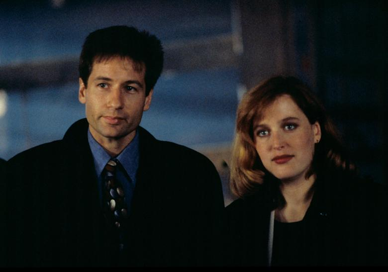 No Merchandising. Editorial Use Only. No Book Cover Usage. Mandatory Credit: Photo by Moviestore/REX/Shutterstock (1650799a) The X-files , David Duchovny, Gillian Anderson Film and Television