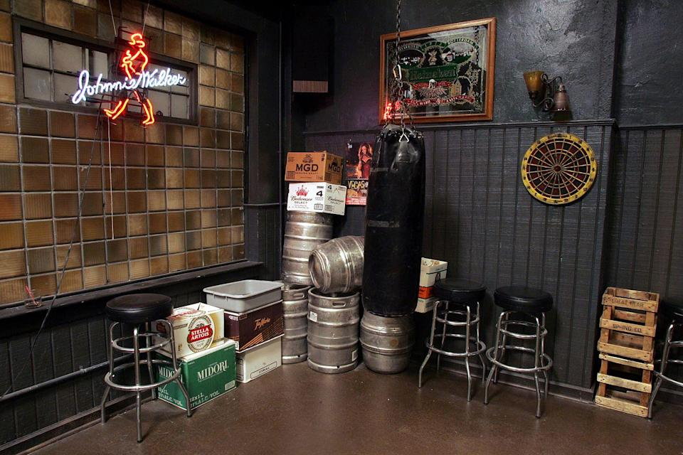 <p>And an endless stack of kegs.</p>