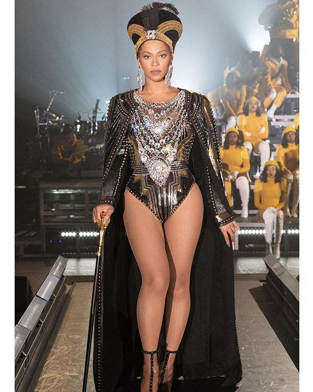 """<p>Remember this walk from Beyoncé's <em>Homecoming</em>? Well her legs didn't get that sculpted by accident. The singer's trainer, Marco Borges, revealed the four-move leg workout that she uses to stay toned in an interview with <em><a href=""""https://www.elle.com/beauty/health-fitness/news/a27101/beyonce-thigh-workout/"""" rel=""""nofollow noopener"""" target=""""_blank"""" data-ylk=""""slk:Elle"""" class=""""link rapid-noclick-resp"""">Elle</a>.</em> The circuit includes jumping lunges, plié jumps, pelvic lifts <em>and</em> reverse-squat kicks (phew!). </p><p><a href=""""https://www.instagram.com/p/BhlKttTlX-g/?utm_source=ig_embed&utm_campaign=loading"""" rel=""""nofollow noopener"""" target=""""_blank"""" data-ylk=""""slk:See the original post on Instagram"""" class=""""link rapid-noclick-resp"""">See the original post on Instagram</a></p>"""