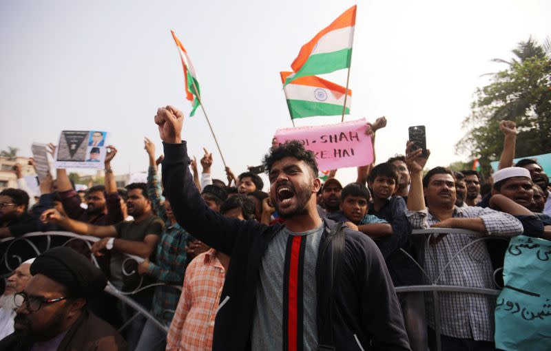 India prepares for New Year's Eve with fresh protests against citizenship law