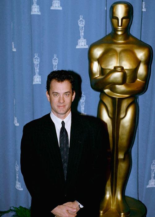 In his Academy Award acceptance speech for his performance in 'Philadelphia', Tom Hanks thanked his gay drama teacher Rawley Farnsworth for being one of his inspiration for portraying the challenging role of a homosexual man. He thereby 'outed' him by publically .This incident inspired Frank Oz to make a movie 'In and Out' starring Matt Dillion and Kevin Kline.