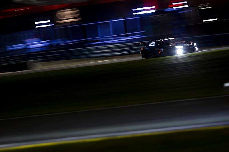 WTR Cadillac jumps from fourth to first during stops