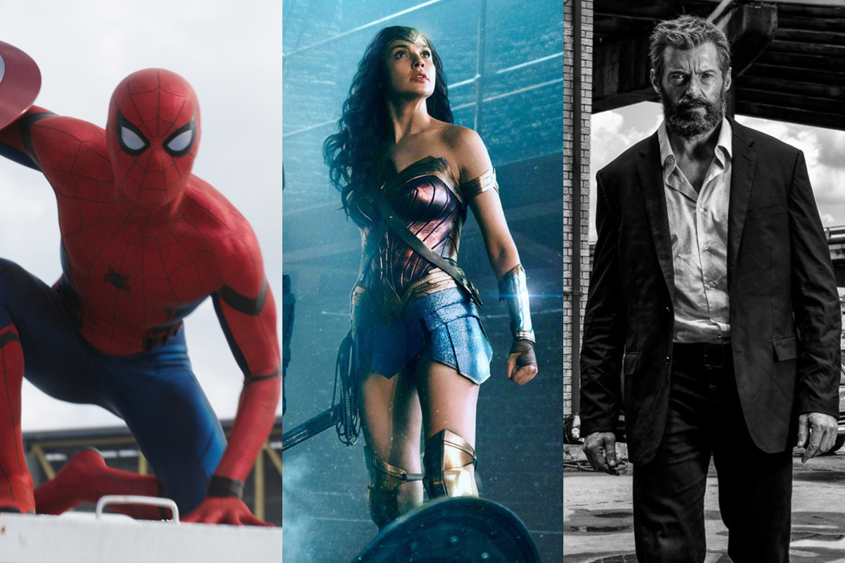 <p>Hollywood's superhero movie juggernaut continues to roll on in 2017 with a veritable feast of costumed heroics. Next year there are ten major movies based on comics old and new, but don't expect any of them to adhere to cliché. Each looks set to offer something different, and something for everyone. (Credits: Sony Pictures / Warner Bros / 20th Century Fox) </p>