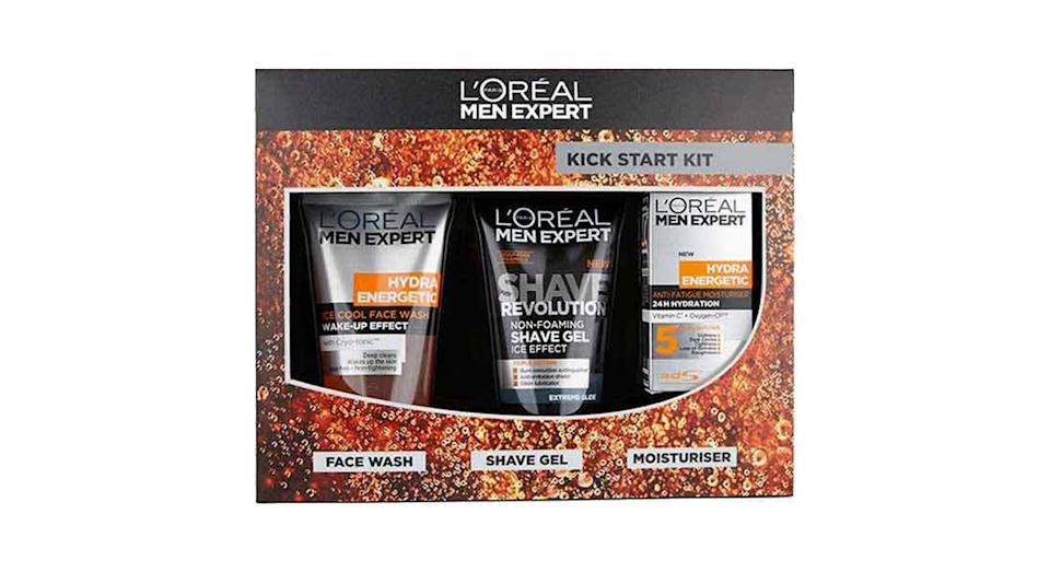 L'Oreal Men Expert Kickstart Toiletry Gift Set