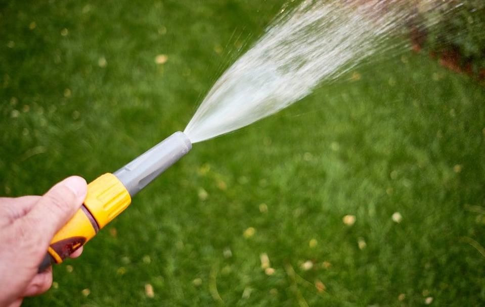 Gardeners are being encouraged to switch from using mains water to rainwater to water their garden (Martin Keene/PA) (PA Archive)