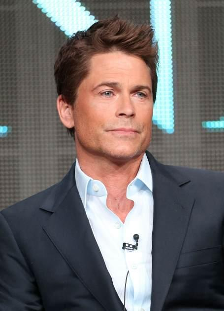 Rob Lowe speaks onstage during the 'Killing Kennedy' panel at the National Geographic Channels portion of the 2013 Summer Television Critics Association tour at the Beverly Hilton Hotel on July 24, 2013 -- Getty Images