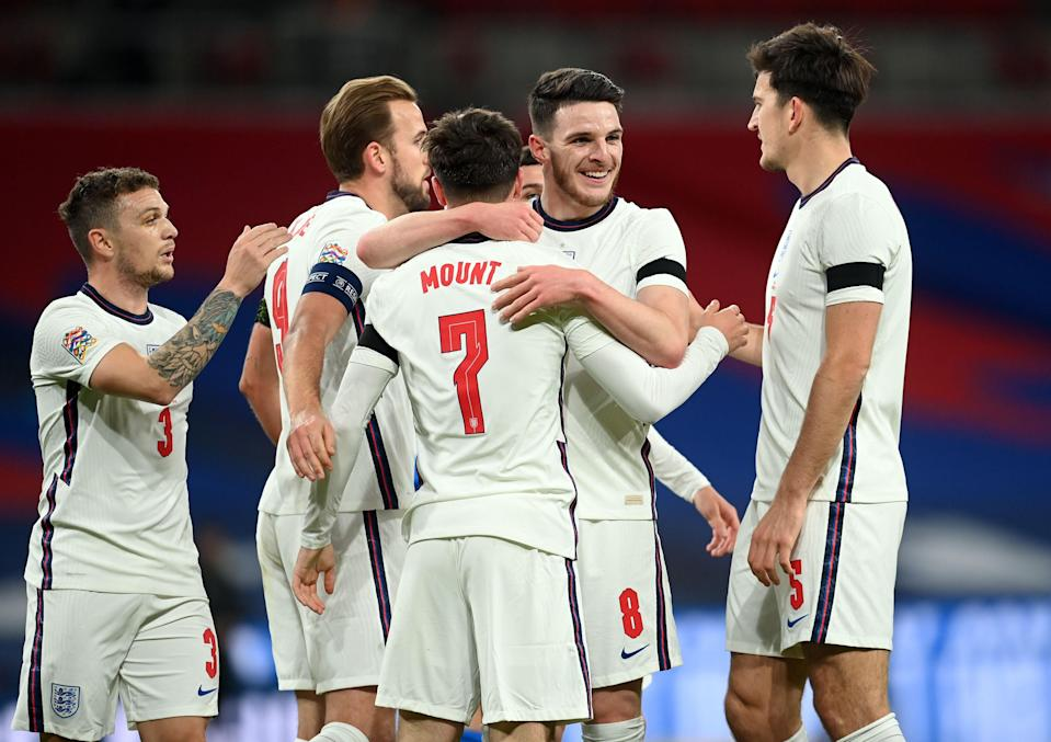 Gareth Southgate will announce his England squad for Euro 2020 later this month (POOL/AFP via Getty Images)