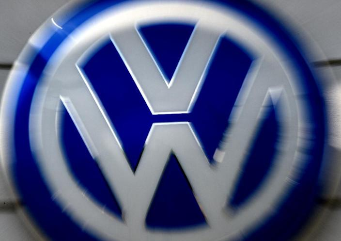 """Volkswagen's troubles began in 2015 when it admitted installing so-called """"defeat devices"""" in 11 million diesel vehicles (AFP Photo/Mark Ralston)"""