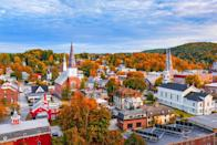 """<p>Another city named after its European counterpart, <a href=""""https://www.montpelier-vt.org/552/History-of-Montpelier"""" rel=""""nofollow noopener"""" target=""""_blank"""" data-ylk=""""slk:Montpelier was founded in 1781"""" class=""""link rapid-noclick-resp"""">Montpelier was founded in 1781</a>. This connection has influenced the entire city, which has quintessential New England vibes mixed with vibrant French culture. There are quaint shops and French-inspired architecture, and to top it all off, it's only about two hours away from Montreal, Canada.<br></p>"""