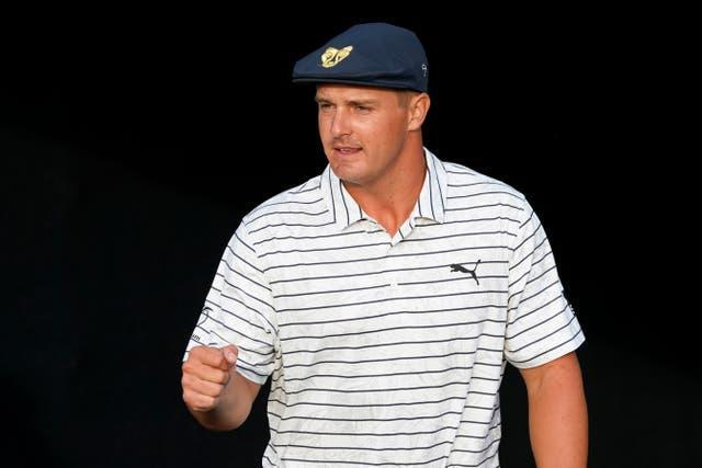 Bryson DeChambeau is in the hunt for another victory