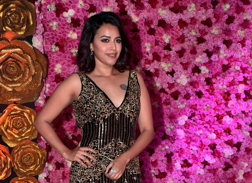 Swara Bhasker (Photo by Azhar Khan/SOPA Images/LightRocket via Getty Images)