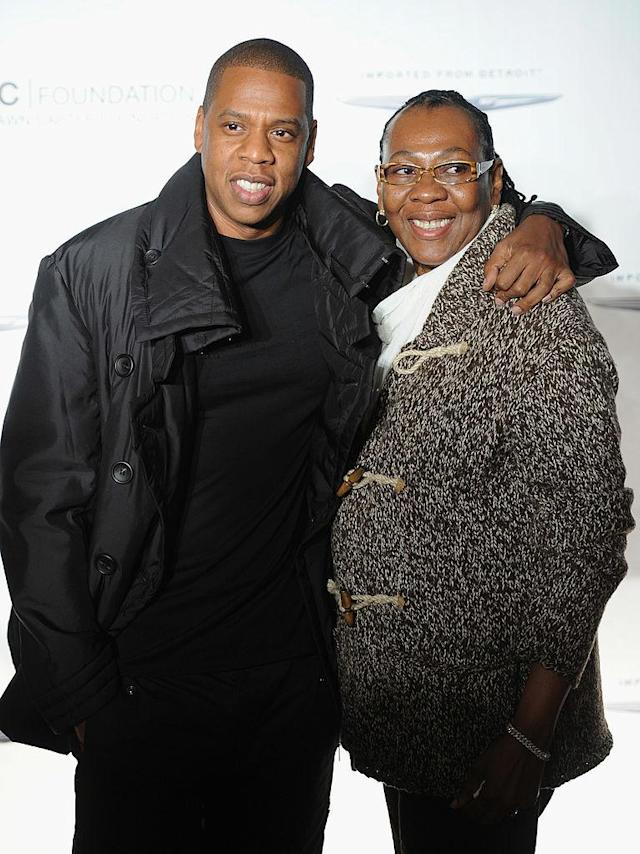 "<p>Jay-Z poses with his mother, Gloria Carter during an evening of ""Making The Ordinary Extraordinary"" hosted by The Shawn Carter Foundation at Pier 54 on September 29, 2011 in New York City. </p>"