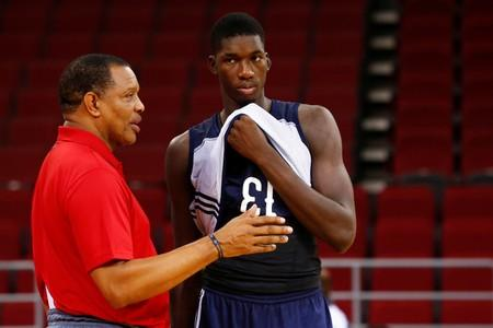 FILE PHOTO: Basketball - NBA New Orleans Pelicans training