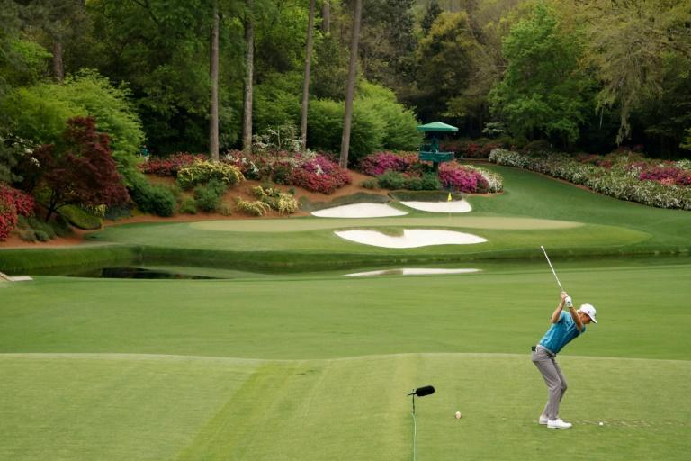American Will Zalatoris is in contention heading into the weekend in his first Masters appearance at Augusta National