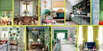 <p>Forget greener pastures: Today, we're seeing greener interiors, thanks to a slew of designers celebrating St. Patrick's Day by sharing their favorite green rooms. From celadon curtains to forest-tiled backsplashes, these spaces just might leave you green with envy. Read on to enjoy some luck of the Irish. </p>