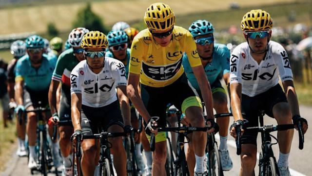Chris Froome believes he is in position to secure a fourth Tour de France title, as his rivals chide local fans shabby treatment of him.