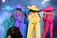 To perform at the Global Citizen Festival, Beyoncé wore six custom looks, filled with hidden details and meaning.