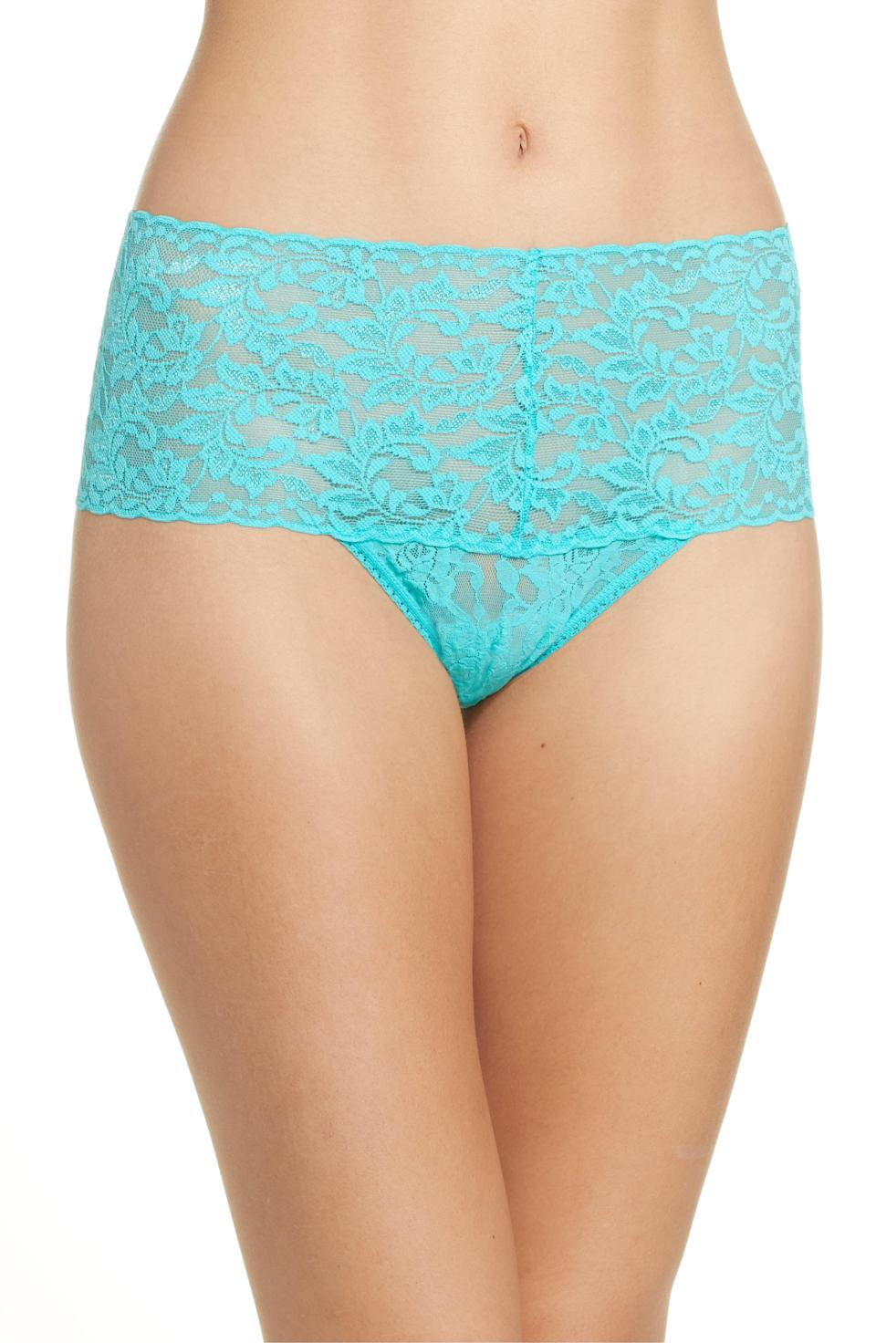 """<p><strong>Hanky Panky</strong></p><p>nordstrom.com</p><p><a href=""""https://go.redirectingat.com?id=74968X1596630&url=https%3A%2F%2Fshop.nordstrom.com%2Fs%2Fhanky-panky-retro-high-waist-thong-any-4-for-59%2F3312559&sref=https%3A%2F%2Fwww.cosmopolitan.com%2Fstyle-beauty%2Ffashion%2Fg33597174%2Fnordstrom-anniversary-sale-2020%2F"""" rel=""""nofollow noopener"""" target=""""_blank"""" data-ylk=""""slk:Shop Now"""" class=""""link rapid-noclick-resp"""">Shop Now</a></p><p>Add something cute and frilly to your underwear drawer without spending too much $$. </p><p><strong><del>$23<br></del>$16.90</strong><br></p>"""