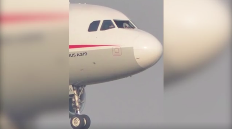Chinese pilot lands passenger jet safely after windshield shatters at 32000 feet