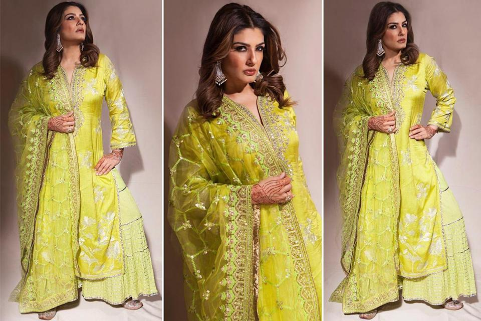 Raveena Tandon Fashion Moments