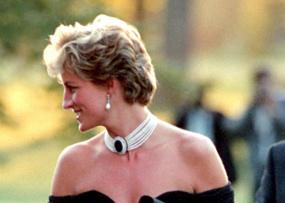 Princess Diana at a Charity Dinner at the Serpentine Gallery, Hyde Park, London, Britain - 1994