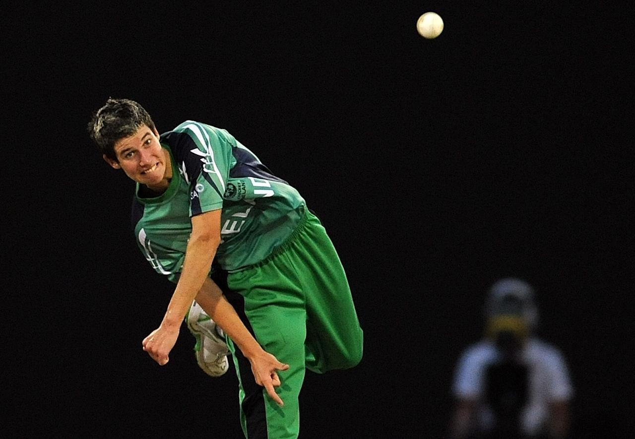 George Dockrell (Ireland): The 19-year-old left-arm spinner had a relatively good tournament as his 13 wickets from 11 matches at an average of 16.46 and economy rate of 6.14 suggest.