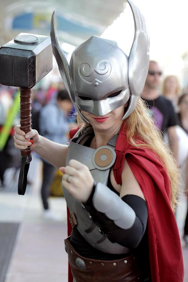 "<p>From <a href=""https://www.yahoo.com/movies/tagged/thor"" data-ylk=""slk:Thor"" class=""link rapid-noclick-resp""><em>Thor</em></a> comics (Photo: Quinn P. Smith/Getty Images) </p>"