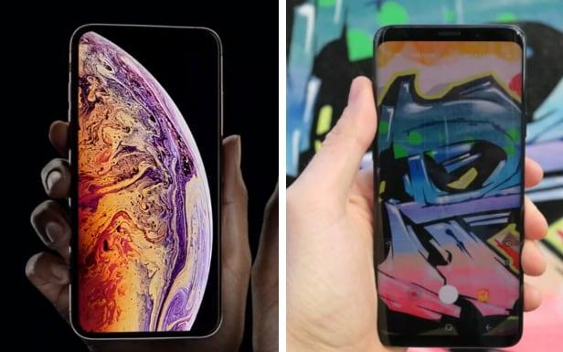 The iPhone Xs v the Samsung Galaxy S9