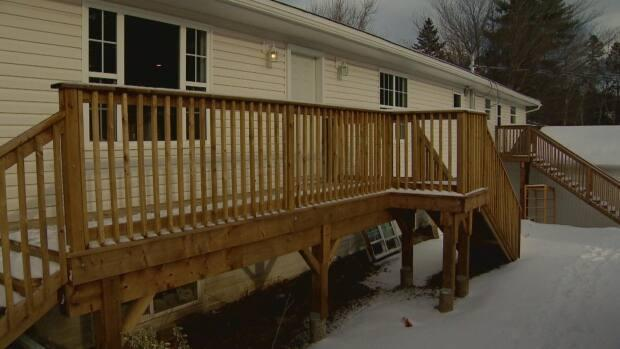 Costello House is located on the north side of Fredericton and caters to adults with a variety of mental illnesses. (Kirk Pennell/CBC - image credit)