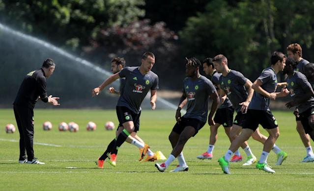 Terry has vowed to keep himself in top condition