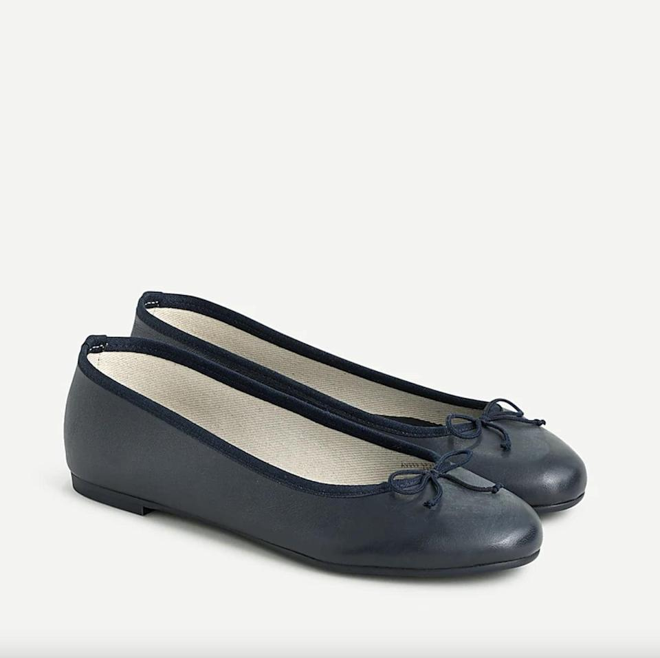 <p>These <span>J.Crew Classic Unlined Ballet Flats</span> ($70, originally $98) are extremely versatile, so you'll wear them for every occasion.</p>