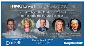 Join the top CIOs and technology executives from Florida and across North America as they explore the CIO's role in leveraging AI to identify new business models and drive operational efficiencies and to help reimagine the business.