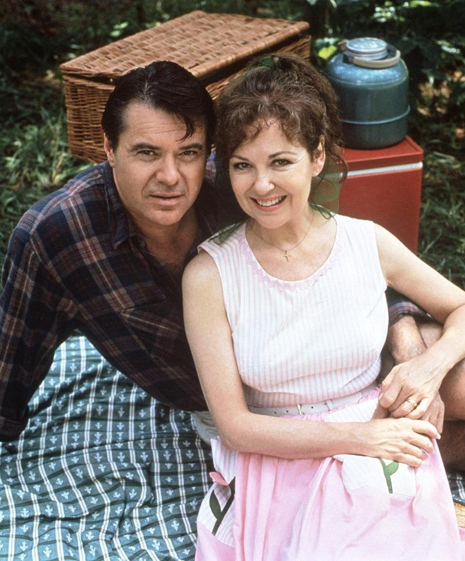 <p><b>Aired:</b> May 22, 1993 on ABC<br><b>Stars:</b> Robert Urich, Gwyneth Paltrow, and Matthew Perry<br><br><b>Ripped from the headlines about:</b> Leonard Fagot (Urich), an attorney who was extremely controlling of his daughters, and then murdered one of their husbands for the insurance policy money when his financial life spun out of control. Paltrow plays one of his daughters, and the future Chandler Bing plays his doomed son-in-law, George. Oscar winner Bill Condon directed the movie.<br><br><i>(Credit: Everett Collection)</i> </p>
