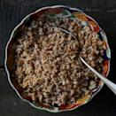 <p>This Ethiopian buttery grain porridge recipe is often served for breakfast, but you can also top it with other dishes like messer wot (spiced lentils) or gomen (Ethiopian-spiced collards) for lunch or dinner and eat it in place of the traditional flatbread, injera.</p>